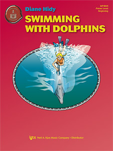 Swimming with Dolphins  is a Primer Level piece in Middle C position with an easy teacher accompaniment. Excellent first recital piece.