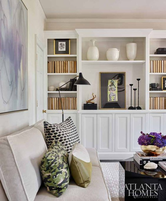 things we love built in bookshelves