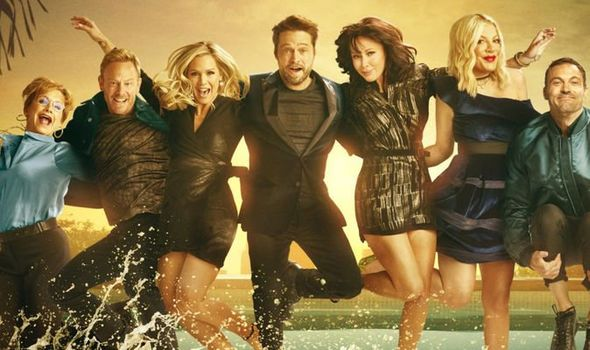 The original cast don't take themselves too seriously in the reboot of 90210