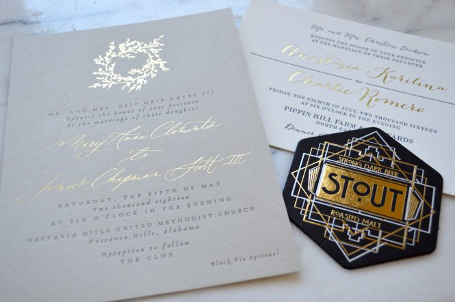 Foil Stamping The Good Bad Shiny Laughing