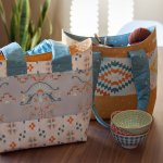 Bucket Basket Tote Free Pattern Very Shannon