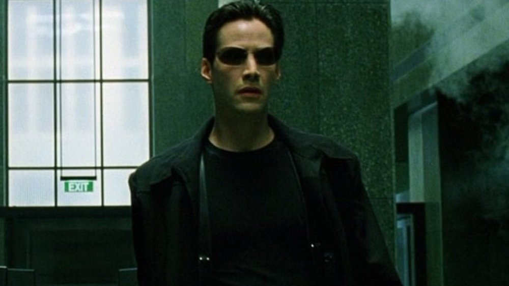 Foto de Keanu Reeves interpretando Neo, ele continuará fazendo o papel do personagem em Matrix 4