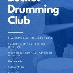 Bucket Drumming Club Stevie Hagel
