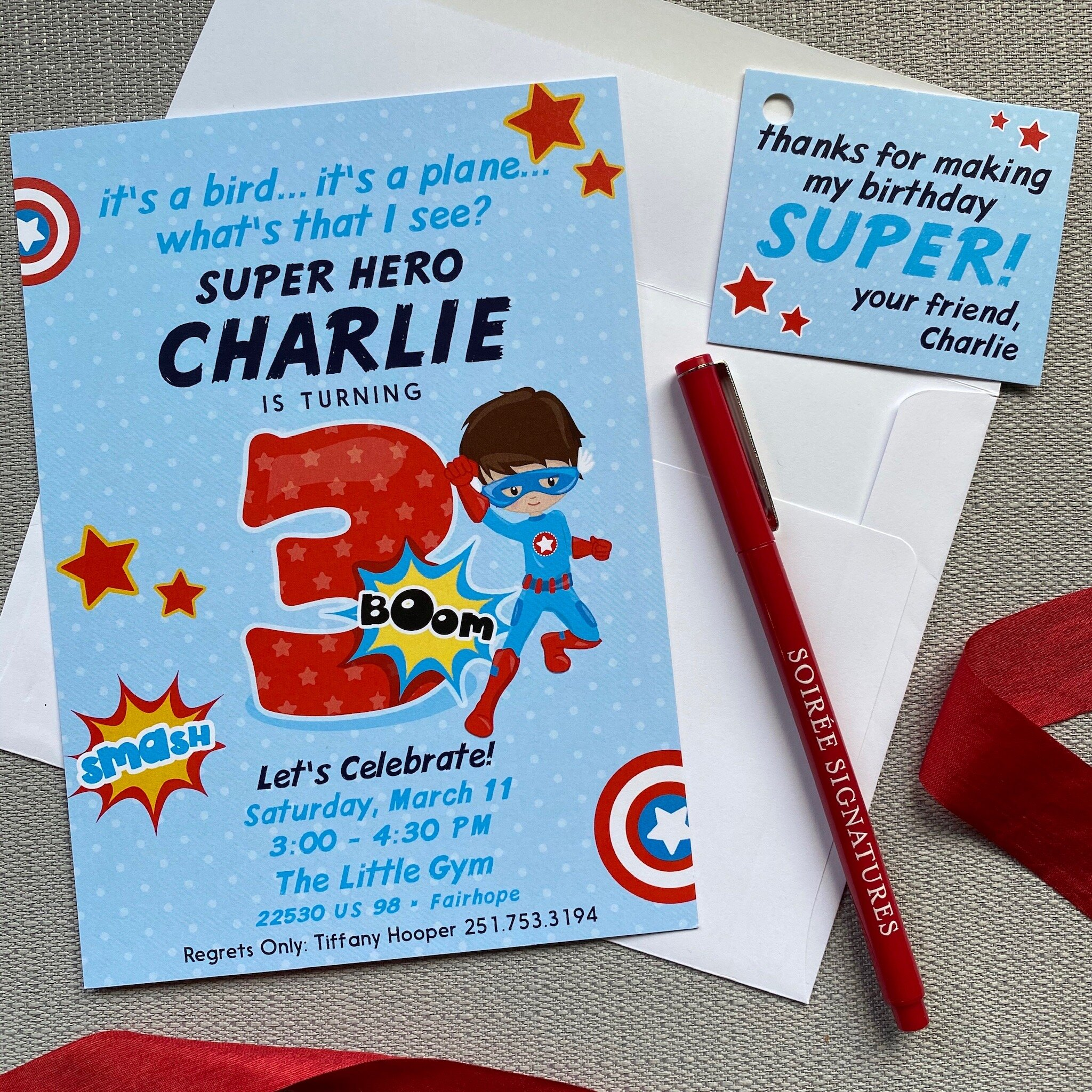 super hero birthday invitation aj bday 10 soiree signatures
