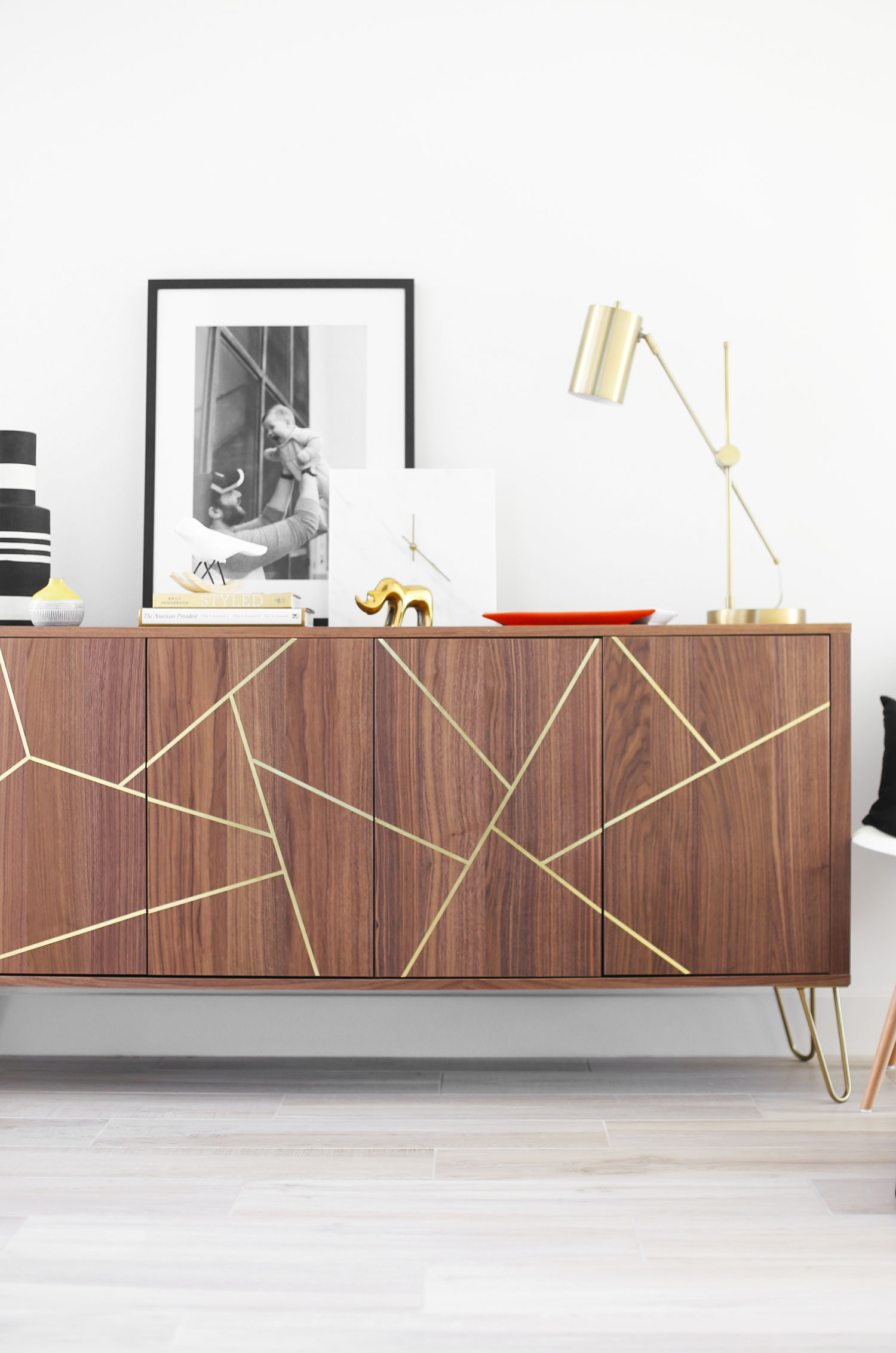 Mid Century Modern Ikea Hack Sideboard Kristi Murphy Diy