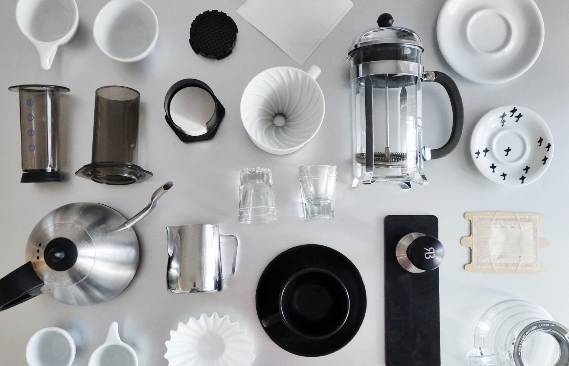 How To Be A Minimalist Home Barista The Little Black Coffee Cup