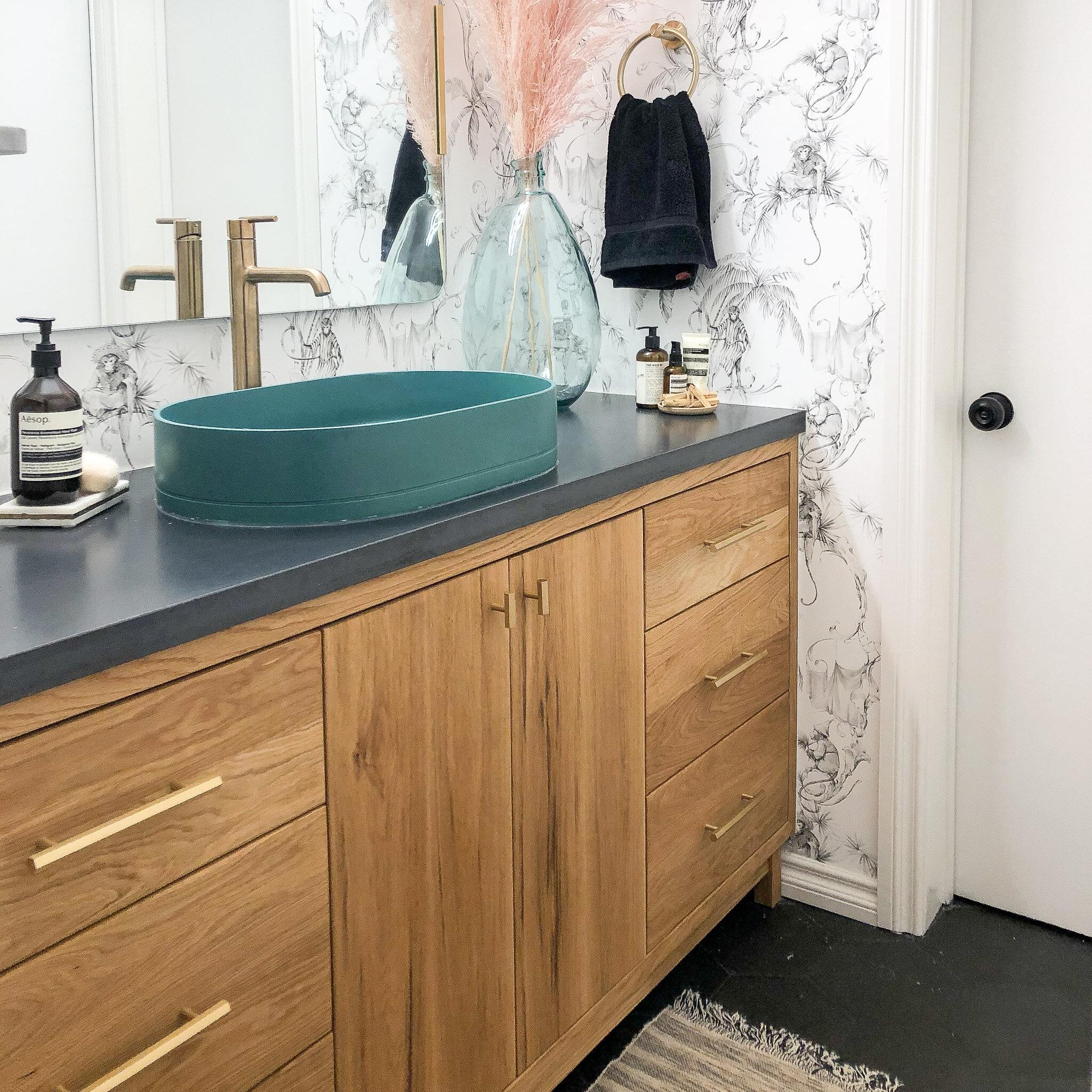 60 modern reclaimed wood vanity single sink what we make