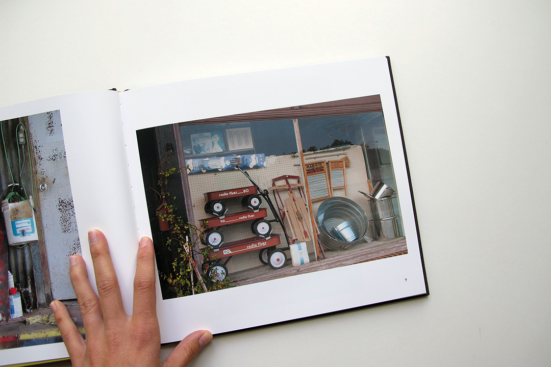 A spread from Jack Carnell's book   True Places