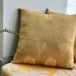 Good As Gold Throw Pillows Loom