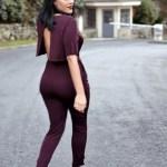 How To Wear H M Burgundy Jumpsuit Altuzarra Red Velvet Blazer Style Operator