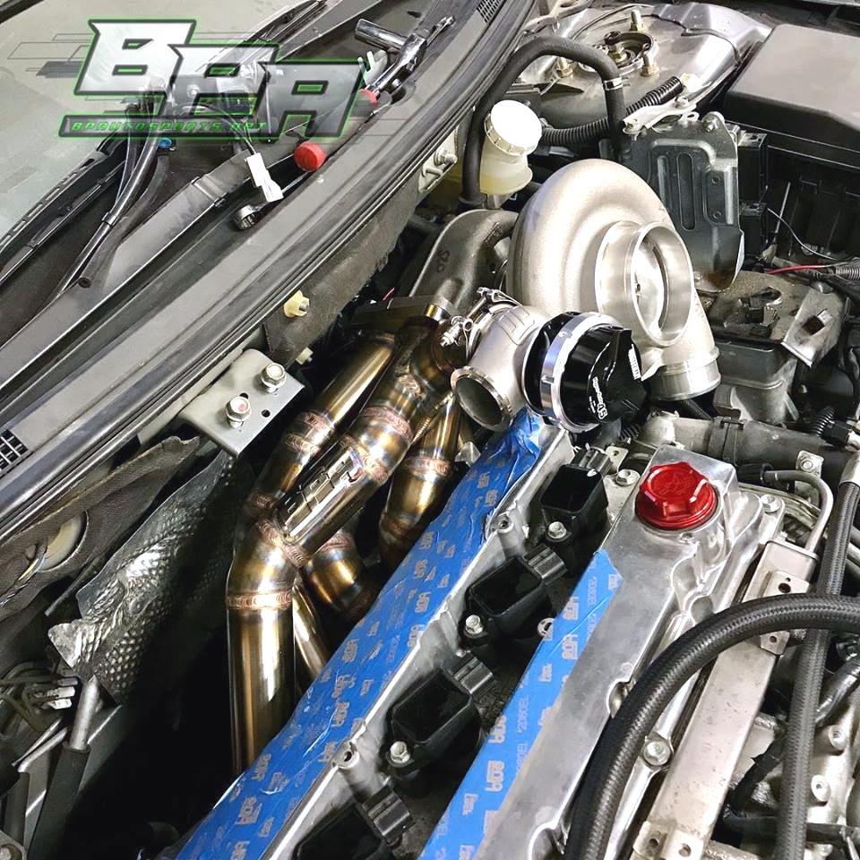evo x sidewinder exhaust manifolds bp autosports llc