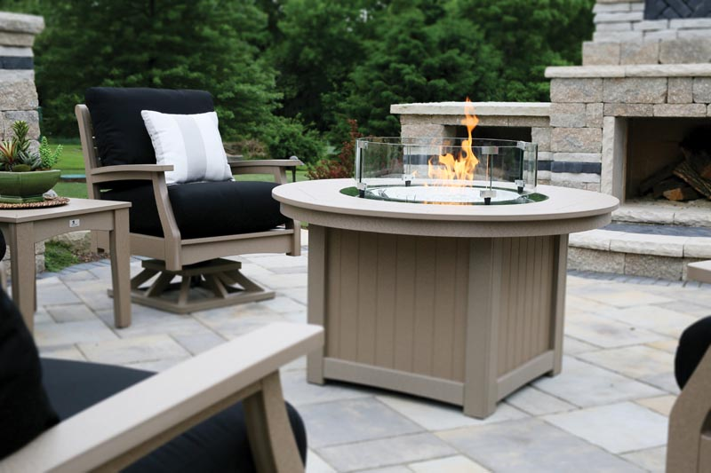 fire pits berlin gardens poly outdoor