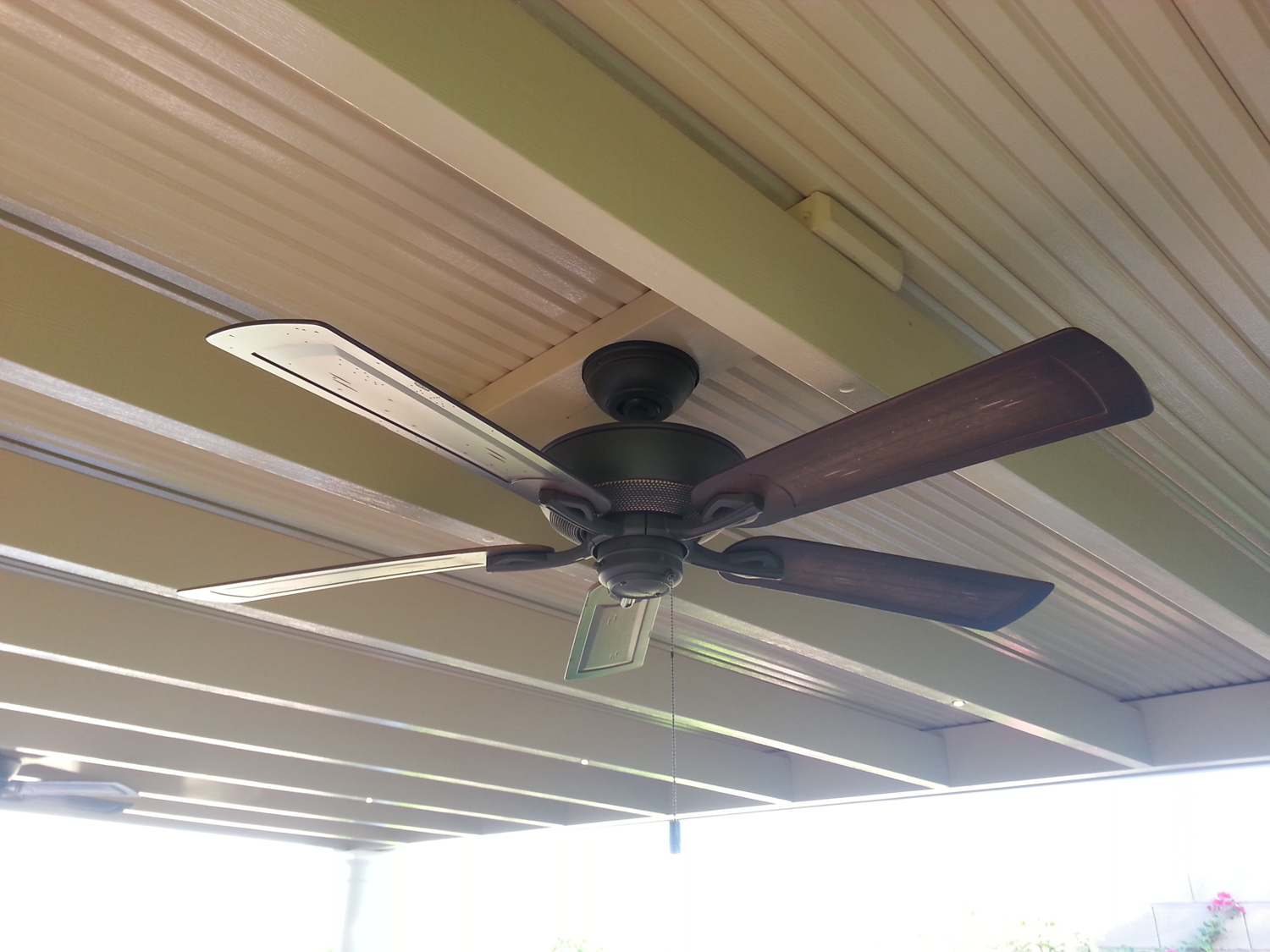 outdoor fans for patio cover valley