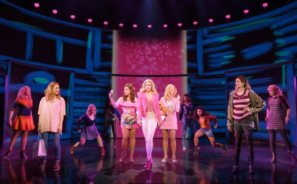 The original Broadway cast of Mean Girls on Broadway.
