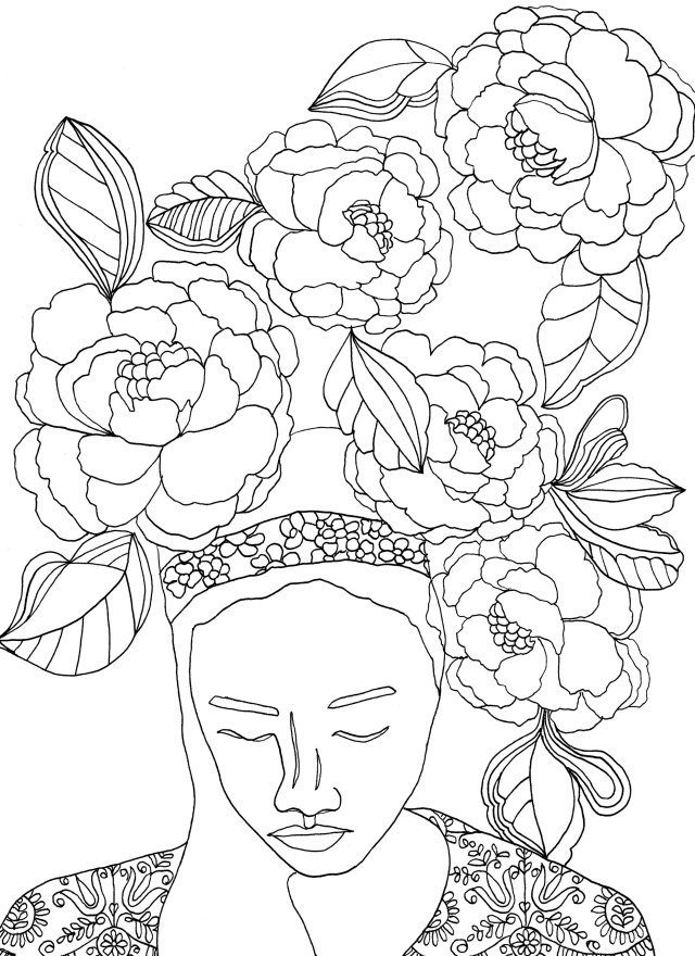 Free Adult Coloring Book Pages — REBECCA MCFARLAND