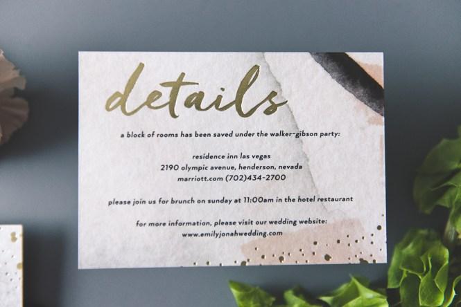 See It Hold Love Wedding Invitation Sample Kits