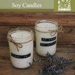 Diy Essential Oil Soy Candles Under A Tin Roof