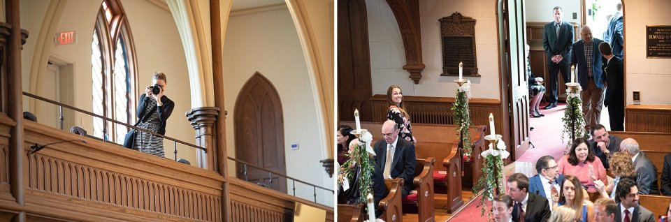 Paparazzi in the church taking photos of each other!!