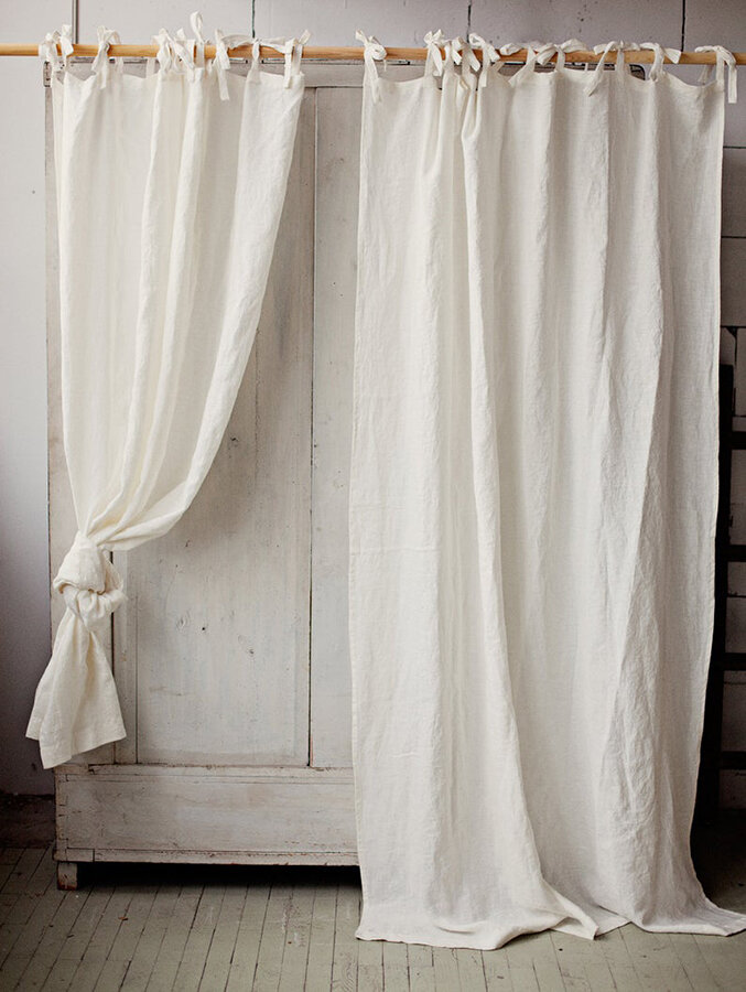 7 linen curtains for the airy eco