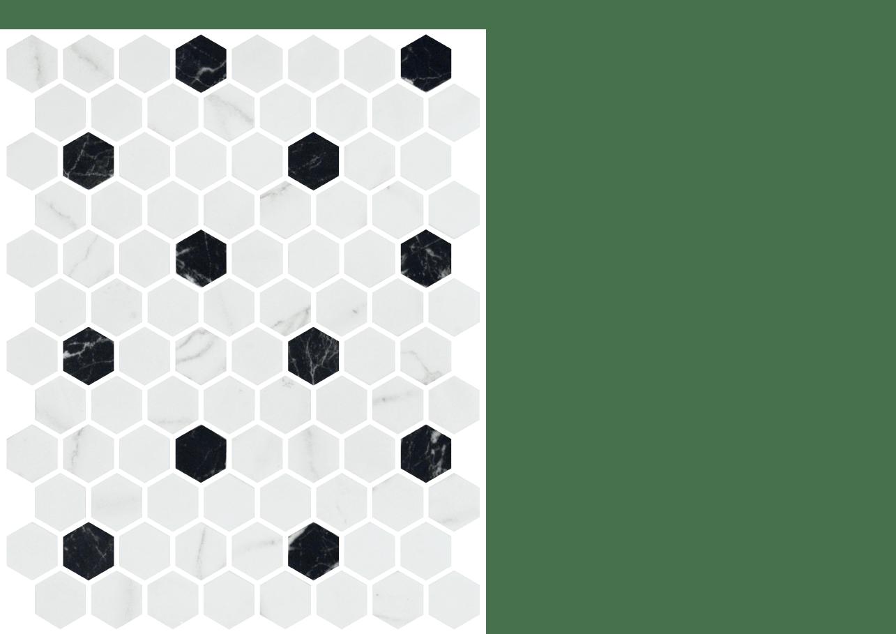 julian tile mosaic onix hex patterns