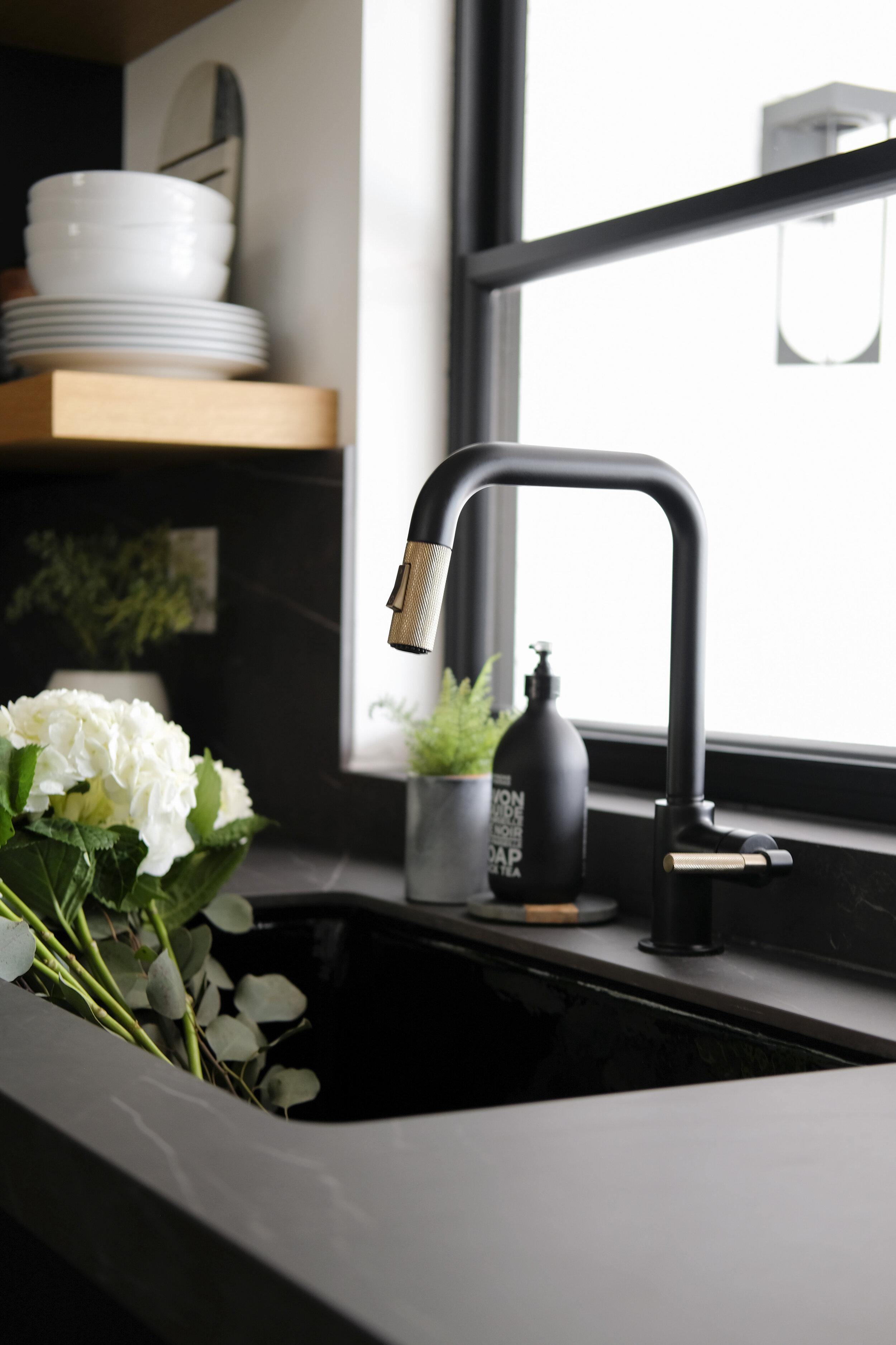 home sweet reno modern kitchen sink