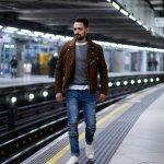 How To Style A Tan Suede Biker Jacket Men S Style Blog
