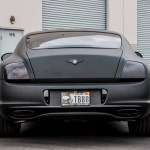 Bentley Continental Super Sport Matte Black Incognito Wraps