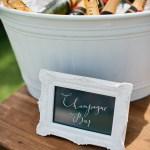 White Champagne Bucket Little Gray Station Wedding Styling Hire Brisbane Gold Coast Byron Bay