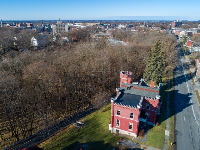 8 Aerial Auburn NY Castle Home For Sale Auction Listings Real Estate Agent Broker Michael DeRosa .JPG