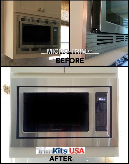 microwave oven trim kits trimkits
