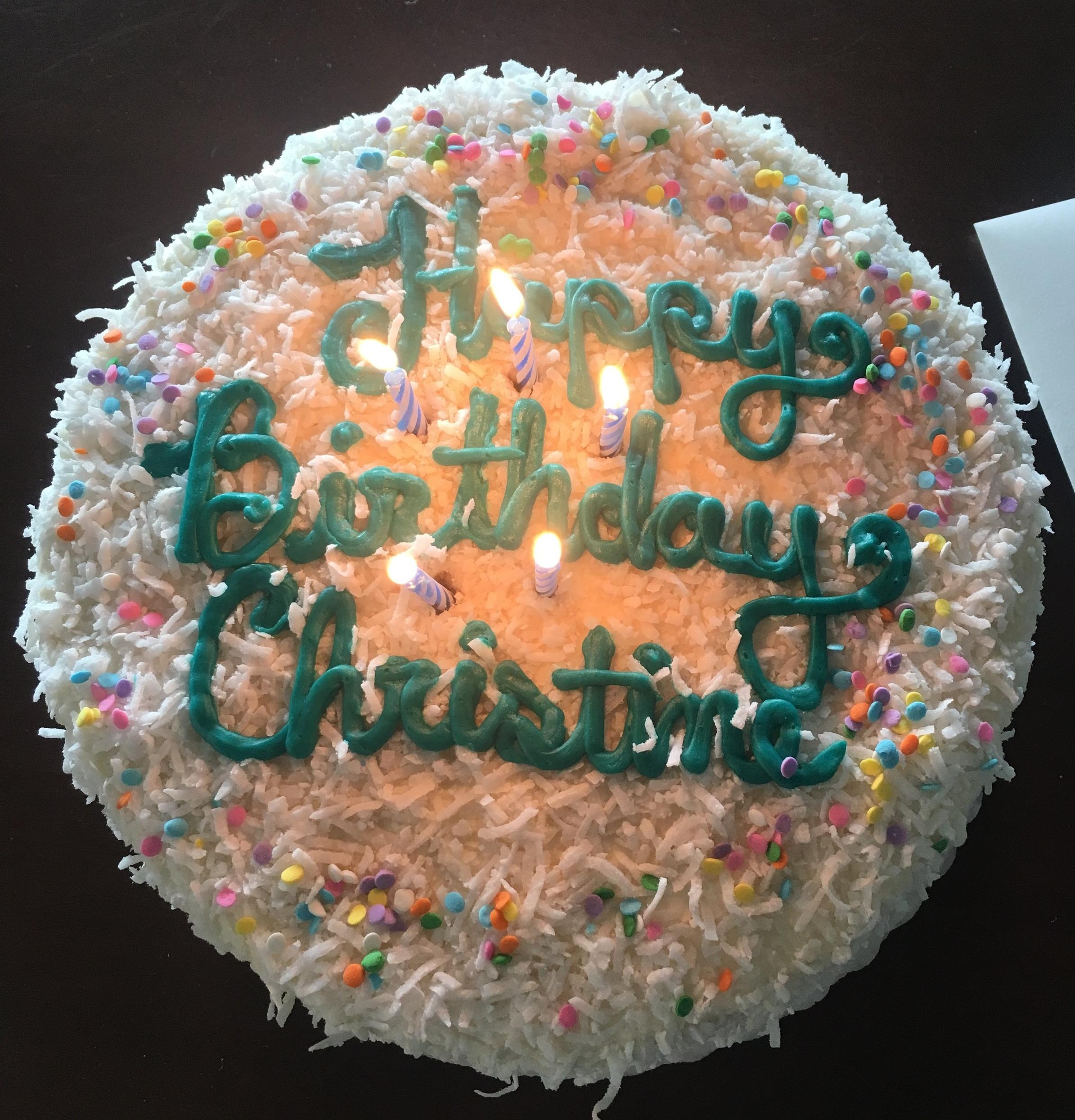Happy Birthday Christine Pickett Design Associates