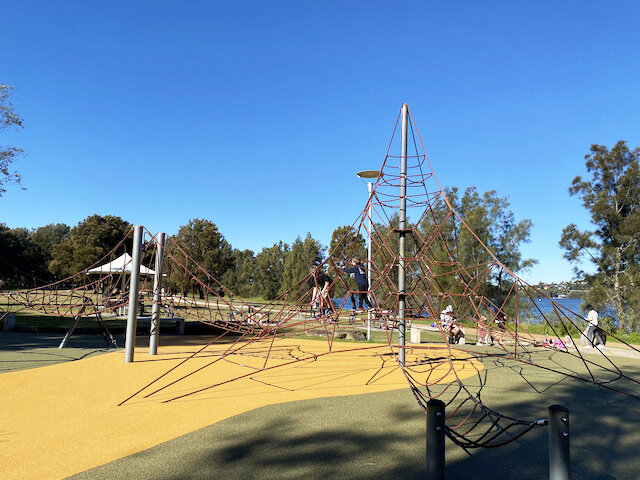 Bilarong Reserve Playgrounds - Photo Credit: @busycitykids