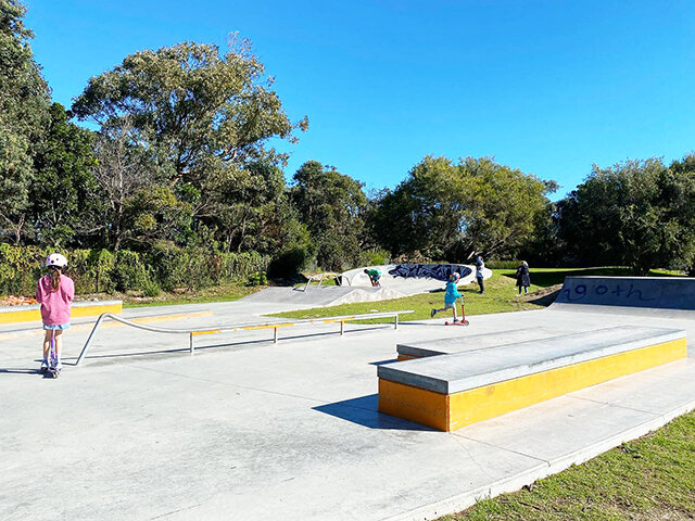 Curl Curl Community Centre Skateboard Ramp - Photo Credit: @busycitykids