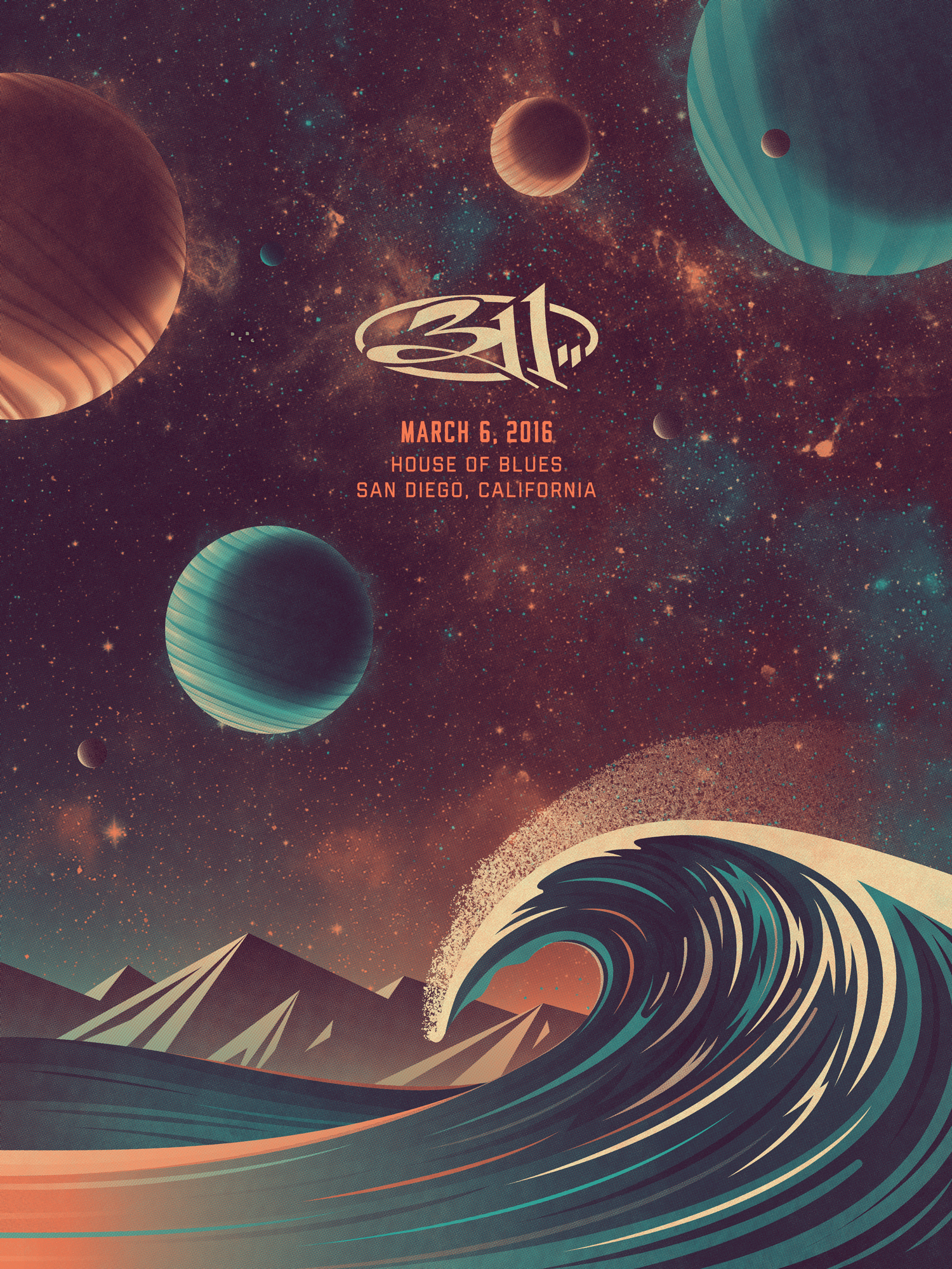 311 southern california posters dkng