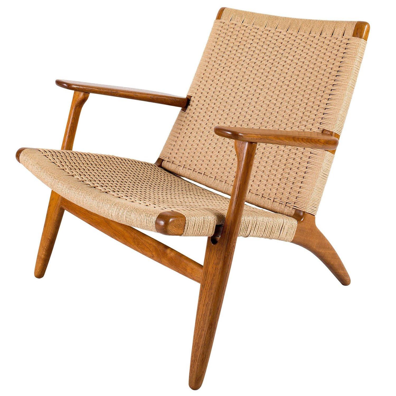 Hans Wegner Ch 25 Lounge Chair Denmark 50