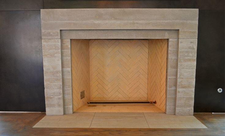 fireplaces concrete studio