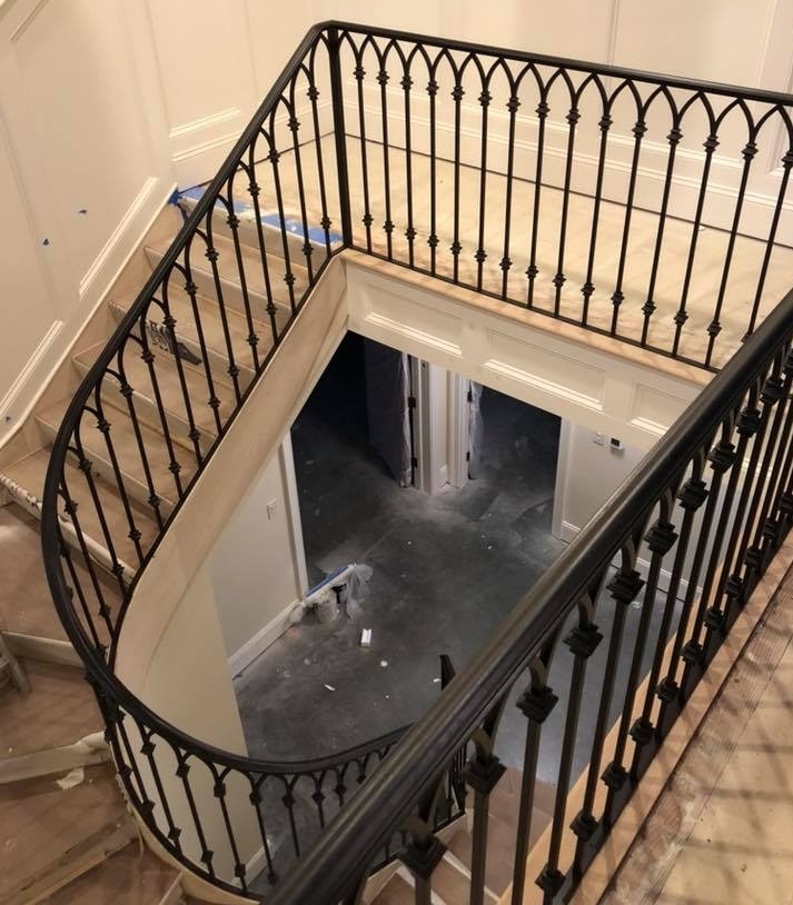Gallery Of Wrought Iron Interior Railings — Wrought Iron Railings   Wrought Iron Stair Railing   Italian   Front Porch   French   Mediterranean   Design