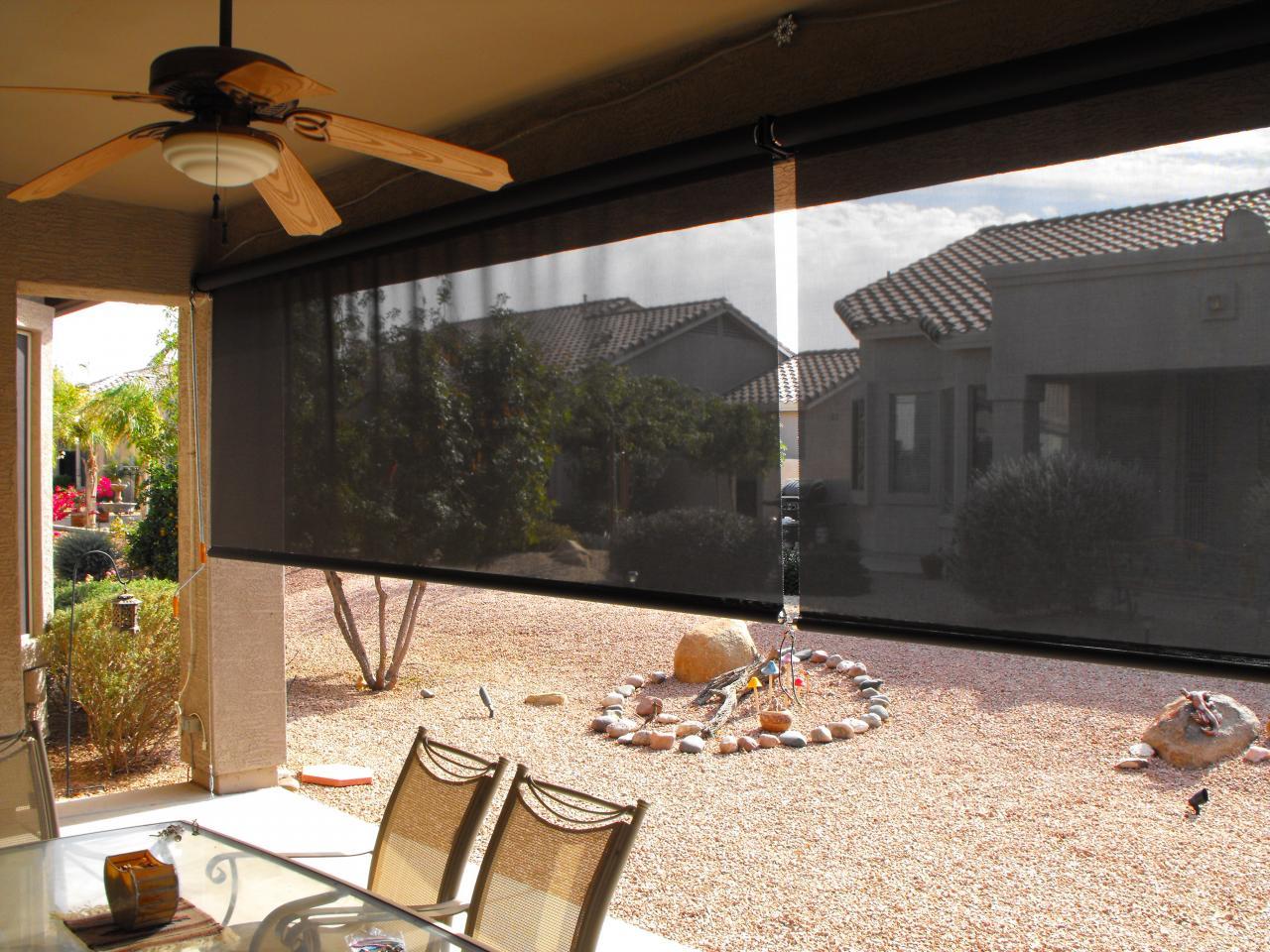 shoreline awning patio inc drop shades