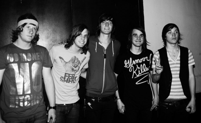 The Maine stands outside of Warehouse Live in Houston, Texas on May 23, 2008.The band has built up a cult following through consistent touring and record releases. (yeatorie/Flickr)