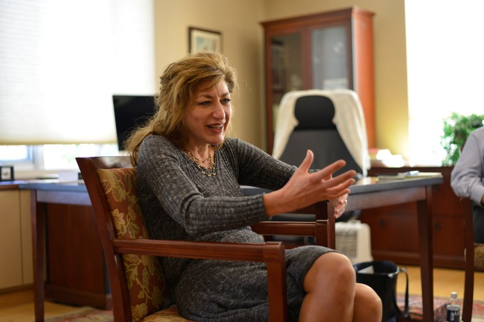Within the hour following the president of the University of Missouri stepping down from office on Nov. 9, University of Connecticut president Susan Herbst announced that UConn will be hiring an Associate Vice President and Chief Diversity Officer (CDO). (Jason Jiang/The Daily Campus)