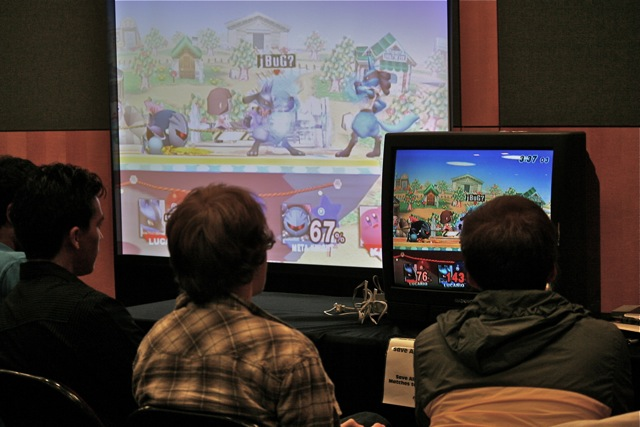 Super Smash Bros. 64, Smash Bros. Melee, and Smash Bros. Brawl Over 110,000 Smash Bros. fans from around the world came out to Rutgers University in New Brunswick, NJ to compete. (Flickr)
