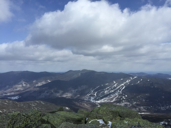 The view from the top of Mt. Washington, New England's highest mountain, during UConn Outdoors' trip to the mountain last weekend. (Courtesy of Justin Fang/UConn Outdoors)