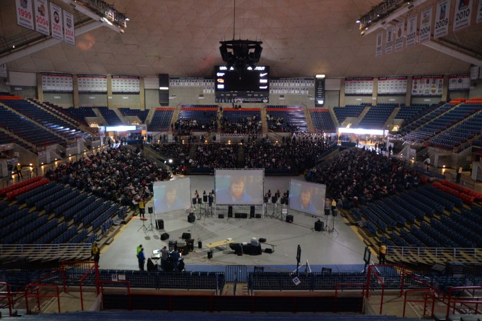 Gampel lights up for the Women's Championship