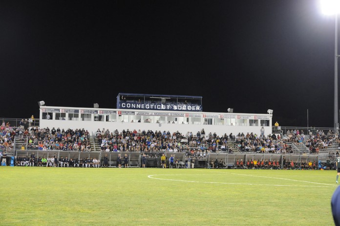 Morrone Stadium is one of the best venues on campus. (Amar Batra/The Daily Campus)