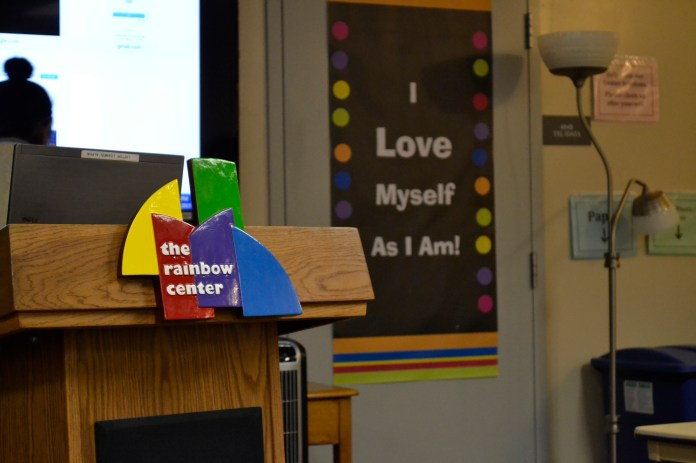 The Out to Lunch lecture was held on Wednesday, September 7th, at the Rainbow Center, located on the fourth floor of the Student Union in room 403. (Olivia Stenger/The Daily Campus)