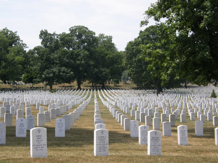 When one thinks about Arlington, they may not understand its eternal significance as the highest representations of honor, the undying homage to our servicemen who have died at home and abroad throughout the fabric of American history. (Jim Bowen/Flickr)
