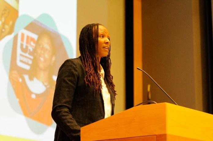 Chamique Holdsclaw, keynote speaker   Sept. 28