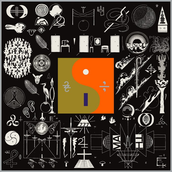 """This cover image released by Jagjaguwar Records shows, """"22, A Million,"""" a release by  Bon  Iver . (Jagjaguwar/AP)"""