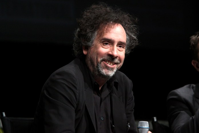 """Film director Tim Burton sparked a media and racial firestorm after his interview on his upcoming film """"Miss Peregrine's Home for Peculiar Children"""" for almost always having an all-white cast.(Gage Skidmore/Flickr Creative Commons)"""