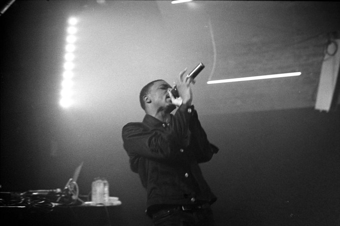 Vince Staples performing at a show in October, 2015. (Tobias Nielsen/via Creative Common)